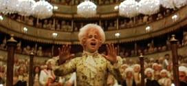 """Un fotogramma del film """"Amadeus"""", di Miloš Forman"""