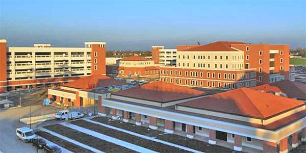 La base americana Del Din, a Vicenza
