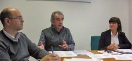 Da sinistra, Michele Spione, Giacomo Toffanin e Michela Vaccari