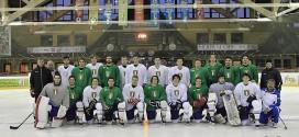 La squadra nazionale italiana under 20 di hokey su ghiaccio