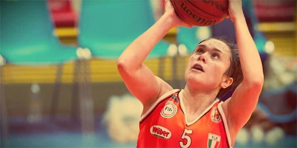 Giulia Gatti, play del Famila