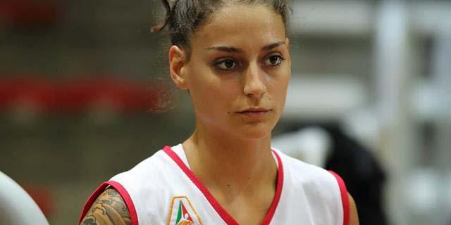 La giovane guardia della Velco Vicenza (classe 1992) Anna Colombo