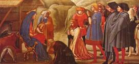 """Masaccio, """"Adorazione dei Magi"""" (1426)"""