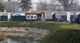 Il Campo nomadi di Viale Cricoli, a Vicenza