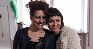 Da sinistra: Ilaria Fantin e Petra Magoni