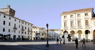 Piazza Castello, nel centro storico di Vicenza