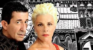 Pamela Villoresi e Claudio Casadio