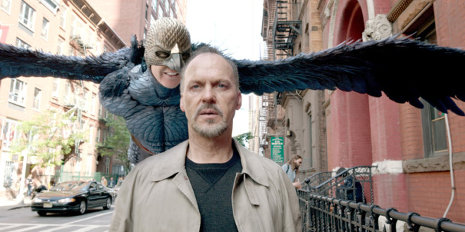 """Michael Keaton nel film """"Birdman"""". (Courtesy Fox Searchlight Pictures)"""