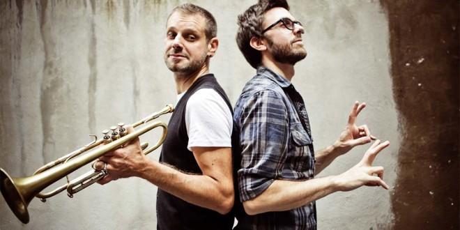 Fabrizio Bosso (a sinistra) e Julian Mazzariello