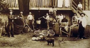 Famiglia italiana in Brasile, a Caxias do Sul, nel 1918