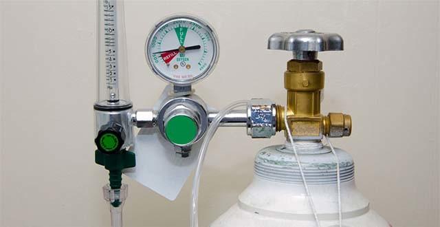L'ossigeno è un gas altamente infiammabile...