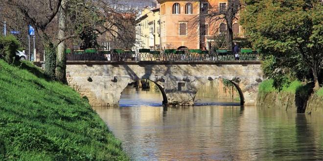 Ponte Furo, a Vicenza, sul fiume Retrone
