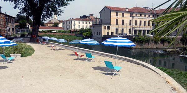 """La... """"spiaggia"""" di Vicenza"""