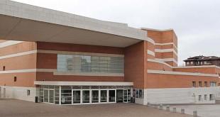 L'ingresso del Teatro Comunale di Vicenza