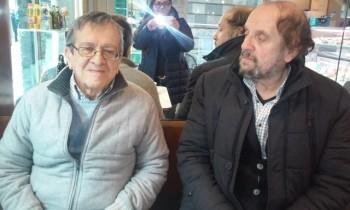 Sabino Acquaviva e Toni Andreetta