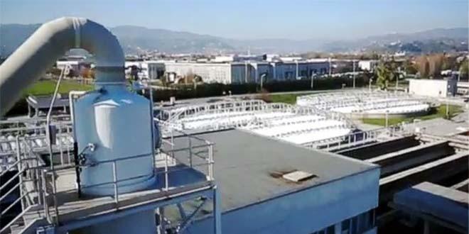L'impianto di depurazione di Acque del Chiampo