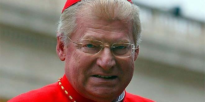 Il cardinale Angelo Scola, arcivescovo di Milano