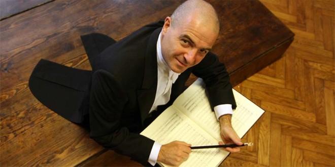 Il direttore d'orchestra Giovanni Battista Rigon