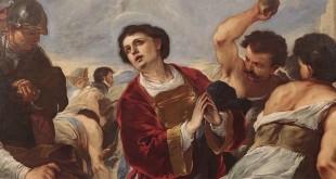 "Luca Giordano - ""Martirio di Santo Stefano"""