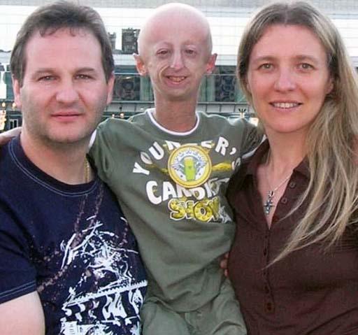 Sammy Basso con la famiglia