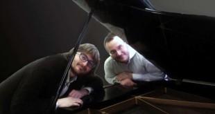 Alberto Spadarotto (a destra) ed il pianista Massimo Zulpo