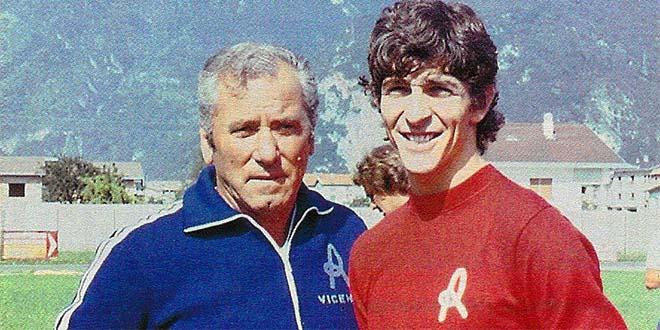 """Fabbri e Paolo Rossi, tra i maggiori artefici del cosiddetto """"Real Vicenza"""" di fine anni settanta"""