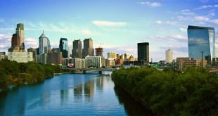 Un veduta del centro di Filadelfia, la più grande ed importante città della Pennsylvania
