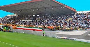 La tribuna dello Stadio Rino Mercante di Bassano del Grappa (Fonte foto: http://www.bassanovirtus.com)