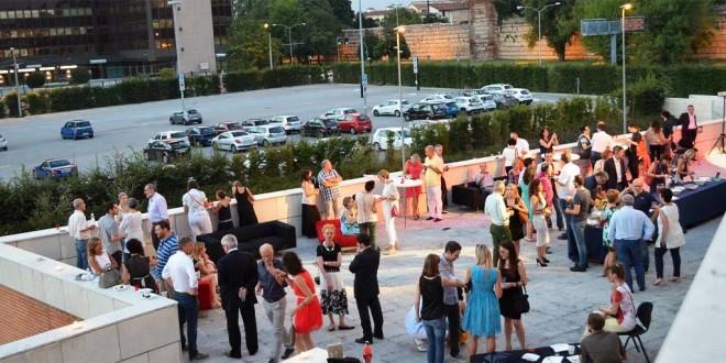 La terrazza del Teatro Comunale di Vicenza