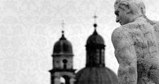 Dettaglio della copertina 2015 del festival Vicenza in Lirica, con la foto di Mario Del Do intitolata Palladian view