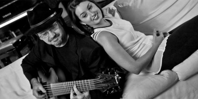 """Il duo """"A bassa voce"""", ovvero Toni Moretti e Claudia Valtinoni"""