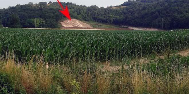 La cava Seb sul monte San Giorgio di Albettone (Fonte foto: www.italianostra.org)