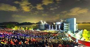 Il Gran Teatro Giacomo Puccini, a Torre del Lago (Foto Cespa)