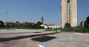 Il nuovo parcheggio all'ex Domenichelli