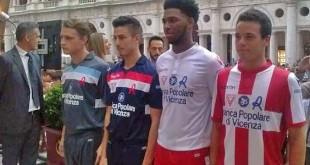 Le maglie ufficiali del Vicenza Calcio nella prossima stagione