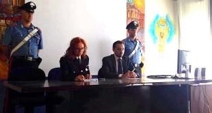 La dirigente delle volanti Elena Peruffo e il dirigente della squadra mobile Davide Corazzini