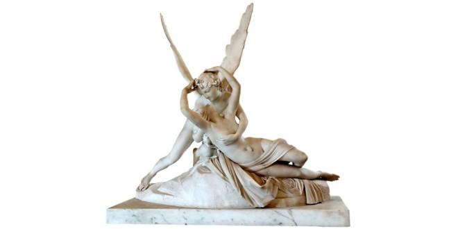"""La celebre """"amore e Psiche"""" di Antonio canova, conservata al Louvre - Foto: Ultimathule - Shutterstock.com"""