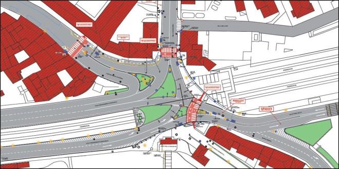 Il progetto per la sistemazione del nodo viario di Piazzale Fraccon