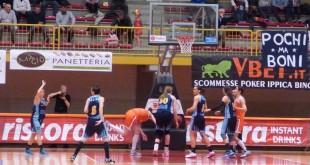Un momento dell'incontro Schio-Umbertide nella stagione 2014-2015