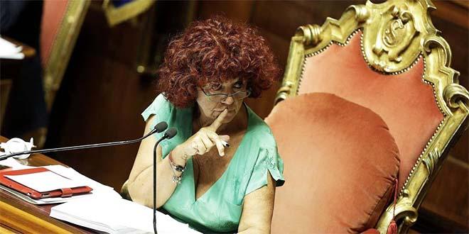 La vice presidente del Senato Valeria Fedeli