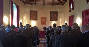 L'assemblea dei sindaci della Provincia di Vicenza riunita a villa Cordellina Lombardi di Montecchio Maggiore