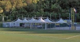 Strutture oggi esistenti nell'impianto sportivo di Arcugnano