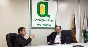 Da sinistra: David Nicoli, presidente di Agriturist Veneto, e Federico Caner, assessore regionale al turismo