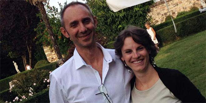 Andrea Zambotto e Anna Massignan