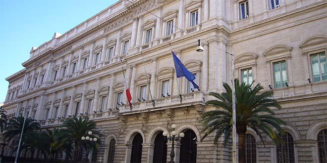 Palazzo Koch, a Roma, sede della Banca d'Italia - Foto: Lalupa (CC 3.0)