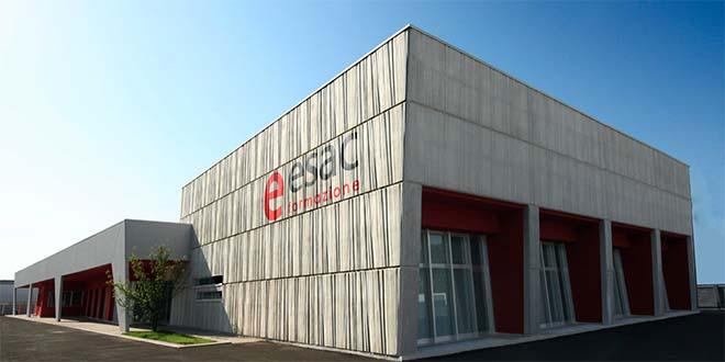 L'edificio, a Creazzo, dove ha sede Esac Formazione