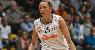 Laura Macchi, autrice di 18 punti nel match di ieri sera