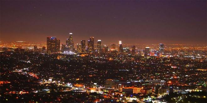 Veduta di Los Angeles