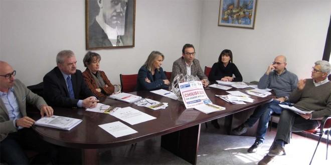 Da sinistra: Antonio Spirto, Serafino Angelo Ziglio, Marina Bergamin, Grazia Chisin, Gianfranco Refosco, Michela Vaccari, Michele Spione, Marco Carli