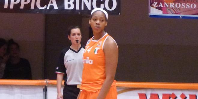 Ashley Walker, con 16 punti è stata la migliore realizzatrice di Schio